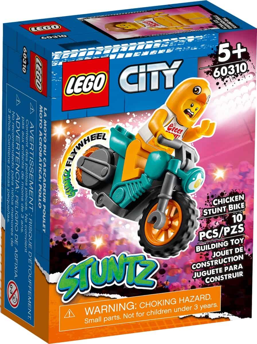 lego 60310 maskottchen stuntbike