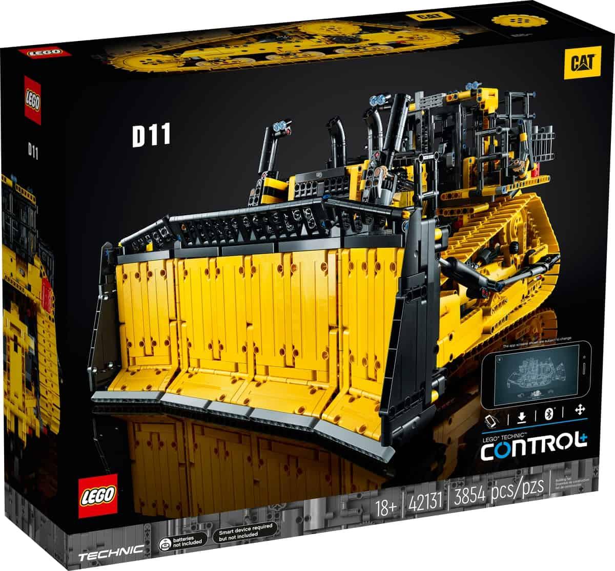 LEGO 42131 Appgesteuerter Cat D11 Bulldozer